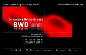 BWD Computer - Notebooks - PC Systeme - Hardware - Software